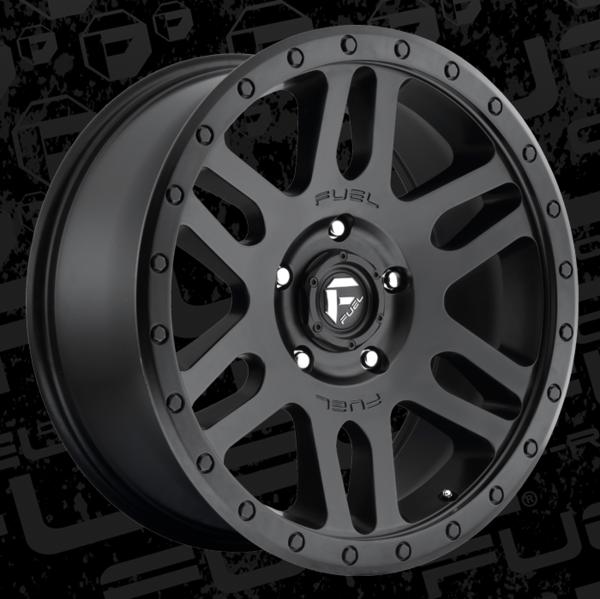 Dodge Ram Truck Or Jeep Wrangler Fuel Recoil Black Wheels