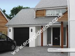 10x8 garage doorBlack Electric Garage Door 10X8  EASYGLIDE GARAGE DOORS