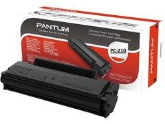 Genuine Pantum Economic Toner Cartridge PC-210 For Pantum P2500 Monochrome Laser Printers - 1,600 Pages
