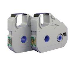 Dubaria Ribbon Cassette For Canon MK2500 / MK2100 / MK1500 Cable ID Printer - Set of 10