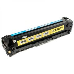 Dubaria 128A Compatible For HP 128A Yellow Toner Cartridge / HP CB322A Yellow Toner Cartridge For HP Color LaserJet CP1525, Cm1415