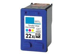 Dubaria 22 XL TriColor Ink Cartridge Compatible For HP 22 XL TriColor Ink Cartridge - High Yield Cartirdge