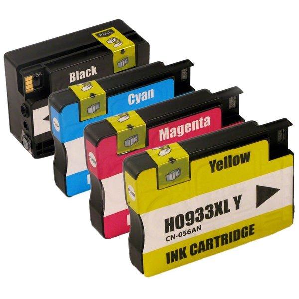 Dubaria 932 XL & 933 XL Combo Ink Cartridge For HP 932 XL & 933 XL Ink Cartridges Combo