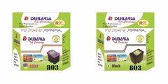 Dubaria 803 Black & Color Ink Cartridge Combo For HP DeskJet 1112, 1111, 2131, 2132 Printer