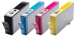 Dubaria 685 Black, Cyan, Magenta & Yellow - All four Color Ink Cartridges Combo For HP DeskJet Ink Advantage 3525, 4615, 4625