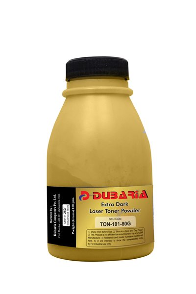 Dubaria Extra Dark Toner Powder For Samsung 101 / MLT-D101S & 111 / MLT-D111S Toner Cartridge - 80 Grams