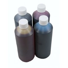 Dubaria Refill Ink For Use In Empty Refillable Cartridge For HP T730, T830 Plotter Printer Without Chip Compatible With HP 728 All Four Colors - 1 Liter Each Bottle