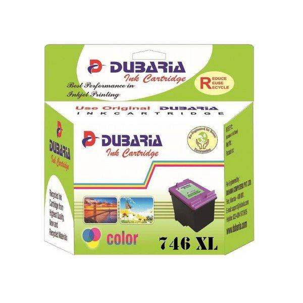 Dubaria 746 XL TriColor Ink Cartridge For Canon 746XL TriColor Ink Cartridge