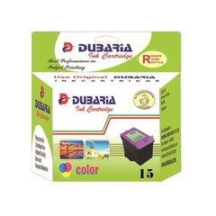 Dubaria 15 Black Tricolour Ink Cartridge For Lexmark 15 Tricolour Ink Cartridge