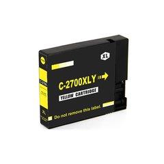 Dubaria 2700 XL Yellow Ink Cartridge Compatible For Canon PGI 2700 XL Yellow Ink Cartridge For Use In Canon Maxify IB 4080, IB 4070, IB 4170, MB 5070, MB 5080, MB 5370, MB 5470 Printer