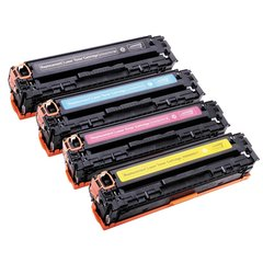 Dubaria 331 Toner Cartridge Combo Bundle Compatible For Canon 331 Toner Cartridges - Cyan, Magenta, Yellow & Black Combo Pack