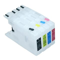 Dubaria Empty Refillable Cartridge For Brother J 430/625/6510 Printers Compatible With Brother LC 400 Small