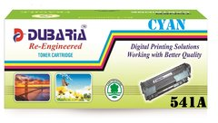Dubaria 541A Compatible For HP CB541A Cyan Toner Cartridge / HP 125A Cyan Toner Cartridge For Cm1312 CP1210 CP1215 CP1510 CP1515