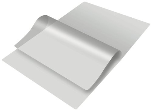 Lamination Pouch Film Sheet, Size A4 - 225 x 310 mm, 125 Microns, 100 Sheets