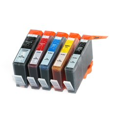Dubaria 862 XL Ink Cartridges Compatible For HP 862 XL For Use In HP Photosmart C410d, B111g, B211e, C311a, C5388, C6388, D5468, B209a, B210a, C309g, C309a, C310a - Cyan, Magenta, Yellow, Black & Photo Black - Combo Value Pack