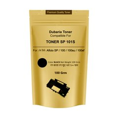 Dubaria SP 100 / SP 200 / SP 300 / SP 111 / SP 1200 / SP 3510 Toner Powder Compatible For Ricoh SP 100 Black Toner Pouch (100 Grams)
