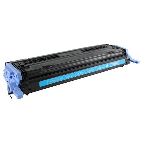 Dubaria 6001A Compatible For HP Q6001A Cyan Toner Cartridge / HP 124A Cyan Toner Cartridge For 1600, 2600, 2605, Cm1015, Cm1017