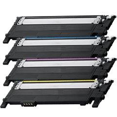 Dubaria 406 Color Toner Cartridges Compatible For Use In Samsung CLP-360, CLP-365, CLP-365W, CLP-366, CLP-366W, CLP-368, CLX-3300, CLX-3305, CLX-3305W, CLX-3305FN, CLX-3305FW, CLX-3306, CLX-3306W, CLX-3306FN, SL-C410W, SL-C460FW, SL-C460W Printers
