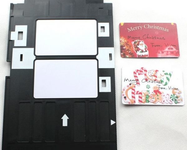 Dubaria PVC ID Card Tray for Epson L800, L805, L810 & L850 Printer