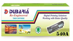 Dubaria 540A Compatible For HP CB540A Black Toner Cartridge / HP 125A Black Toner Cartridge For Cm1312 CP1210 CP1215 CP1510 CP1515
