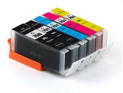 Dubaria 750 XL & 751 XL Ink Cartridges Compatible Replacement For Canon 750 XL & 751 XL Ink Cartridge For Use In Canon iP7270 / MG 5470 / 5570 / IX6770 / 6870 / 6370 / 6470 / 7170 / iP 8770 / MX 927 Printers - 5 Colors