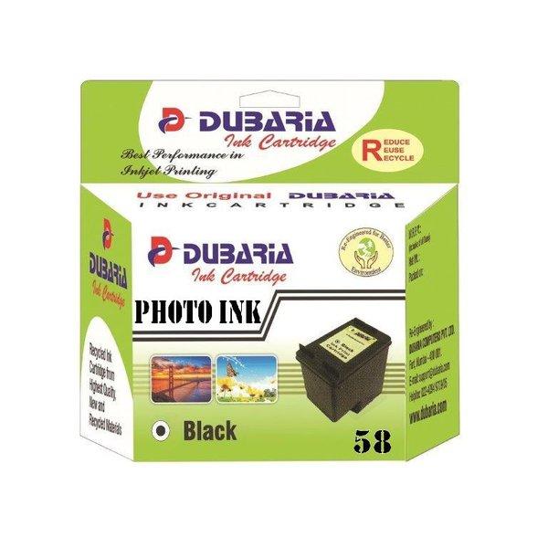 Dubaria 58 Photo Ink Cartridge For HP 58 Photo Ink Cartridge