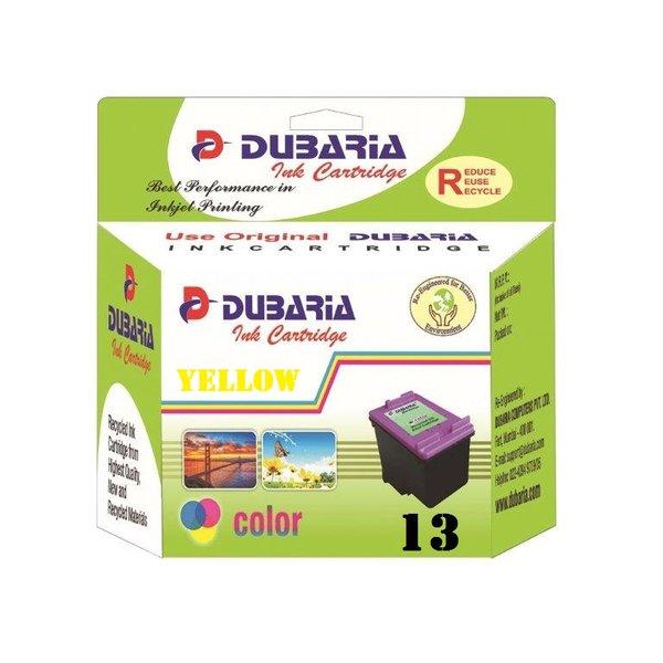 Dubaria 13 Yellow Ink Cartridge For HP 13 Yellow Ink Cartridge
