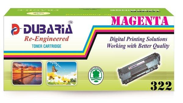 Dubaria 322 Magenta Toner Cartridge Compatible For Canon 322 Magenta Toner Cartridge