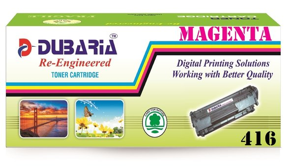 Dubaria 416 Magenta Toner Cartridge Compatible For Canon 416 Magenta Toner Cartridge