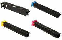Dubaria TN 611 Toner Cartridges Compatible For Konica Minolta TN611K, TN611C, TN611M, TN611Y Toner Cartridges For Use In C451, C550 & C650 Printers - Pack of All Four Color Toners