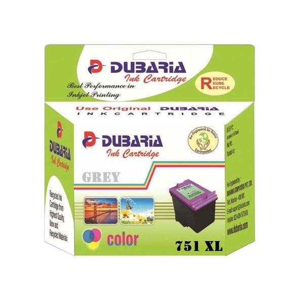 Dubaria 751 XL Gray Ink Cartridge For Canon 751XL GRAY Ink Cartridge