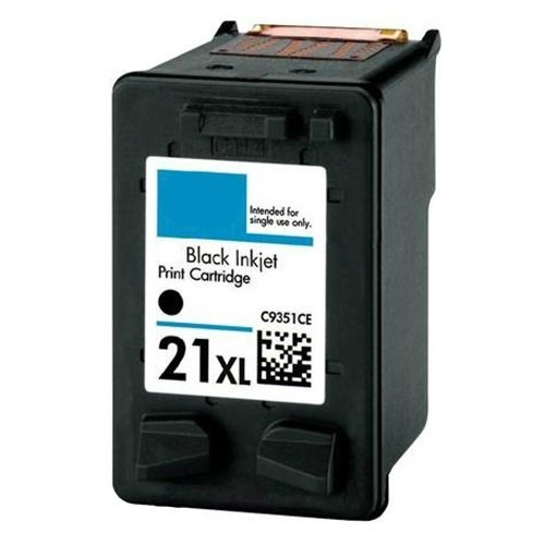 Dubaria 21 XL Black Ink Cartridge For HP 21 XL Black Ink Cartridge - High Yield 475 Pages