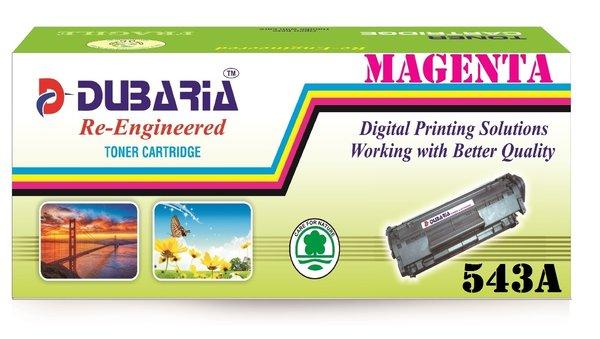 Dubaria 543A Compatible For HP CB543A Magenta Toner Cartridge / HP 125A Magenta Toner Cartridge For Cm1312 CP1210 CP1215 CP1510 CP1515