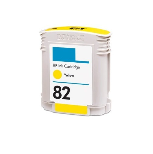 Dubaria 82 Yellow Ink Cartridge For HP 82 Yellow Ink Cartridge
