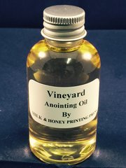 Elder's Anointing Oil: Vineyard Scented