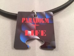 Paradigm Life Female Puzzle Piece God Tag