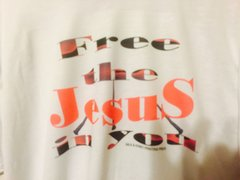 Free The Jesus in YOU: White T-Shirt