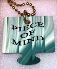Piece of Mind Male Puzzle Piece, God Tag