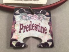 Predestine: Female Puzzle Piece, God Tag