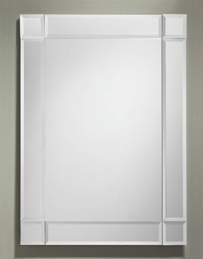 Free Shipping Beveled Border Pieces Mirror 24 X 34 The