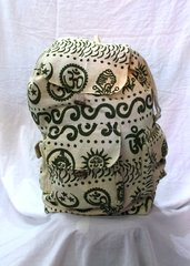 Backpack - Natural with Print