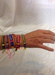 Nimbin Wristbands - Woven