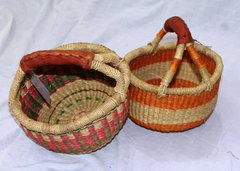 Elephant Grass Baskets - Mini