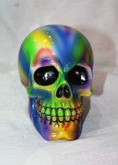 Rainbow Skull Money Box