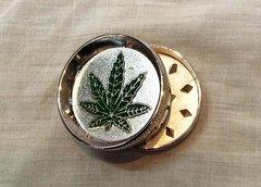 Marijuana Leaf Metal Muller