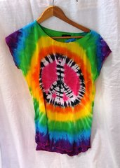 Peace Sign Tie Dyed T-Shirt