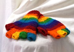 Arm Warmers - Rainbow