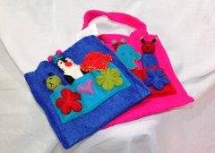 Kids Felt Handbag with Finger Puppets
