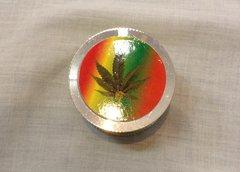Marijuana Leaf Double Chamber Muller