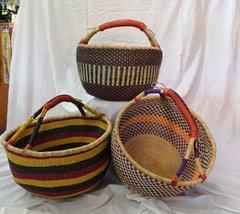 Elephant Grass Basket